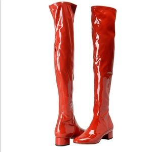 Thigh High RED Valentino Boots